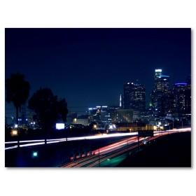 Αφίσα (φώτα, δρόμος, νύχτα, φώτα)